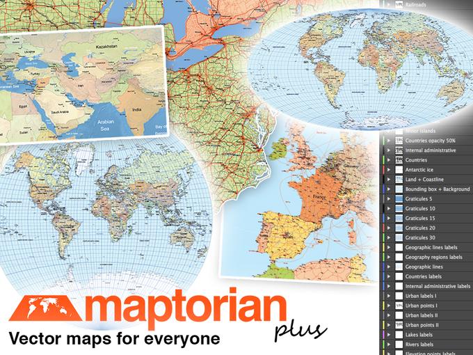 Maptorian vector maps