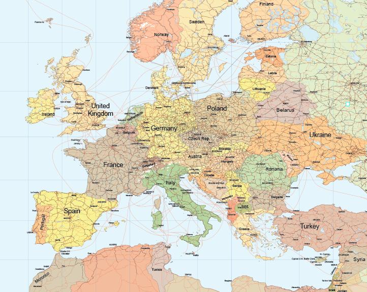 World Maps Vector Pack Maptorian - Detailed world maps