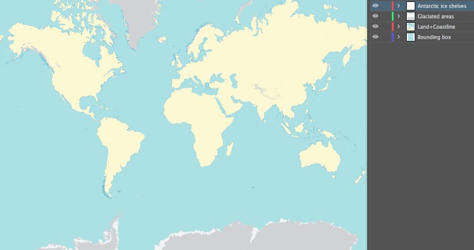 Glaciated Areas
