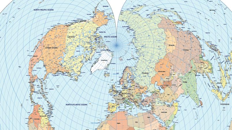 Bonne map