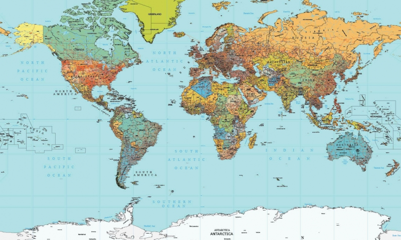 Map Of The World Detailed.Maptorian Vector World Maps Download Editable Layered Royalty
