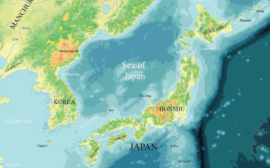 Topographic World Vector Maps Maptorian