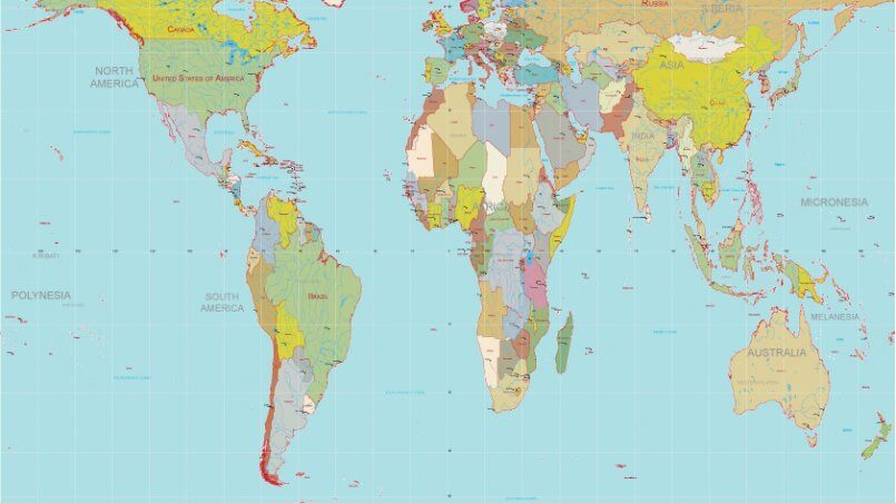 Gall peters projection maptorian gall peters projection gumiabroncs Choice Image