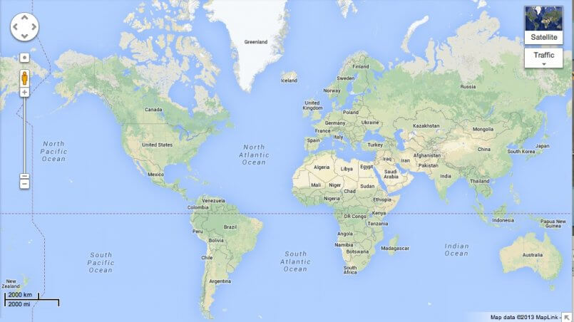 Google Maps says goodbye to Mercator (but only on certain ... on